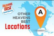 Other Heaven's Best Locations / Heaven's Best Carpet Cleaning Company has Franchises all over the country find one near you.