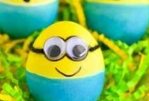 Easter Fun / Easter, Holiday Decorating, Easter Ideas, Easter Eggs, Easter Cakes