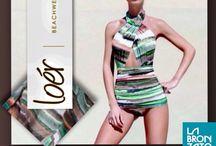 Loér Beachwear por LABRONZATO / No verão de 2007, Amanda Gontijo Funaro e Marina Capra Fantozzi, apresentaram a primeira coleção da Loér, marca de moda praia, que traduz um novo estilo de vestir bikinis.  Simplicidade, elegância e conforto tornaram-se o ponto de partida das sócias, que não economizam esforços para investir em modelagem o que permitem que todos os traços femininos sejam contemplados.