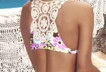 Beach style / Party, casual, swimsuits beach wear
