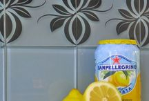 Pretty Tile Tattoos / Peel & Stick tile decals for affordable kitchen or bathroom makeover.