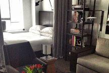 Studio apartment & Loft / Interior ideas for small spaces