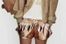 Style Ideas // Metallics / How to wear metallics