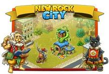 New Rock City / Create your own prehistoric paradise city, capable of withstanding an invasion of evil lizards. Play now: --> https://apps.facebook.com/newrockcity