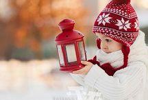 ❄️☃️❄️ Hiver rouge ❄️☃️❄️ / La grande plaine est blanche,immobile,sans voix.....Pas un bruit,pas un son,toute vie est éteinte.....(Guy de Maupassant)