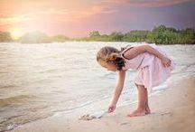 Sur la plage abandonnée ..... / Coquillages et crustacés ......