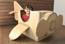 DIY Cardboard / Cheap and fun things you can do it yourself