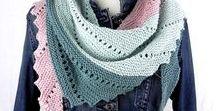 Sylvis Handgestrickte Schals und Tücher