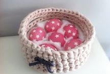 Trapillo - Crochet - Knitting / Trapillo, crochet, t-shirt yarn, zpagetty / by Chechu martinez