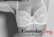 Intimates | Sexy Lingerie / Balcony, push up, plunge, multiway - they are all here. We specialise in cup sizes up to a K, for full support and sexy designs, shop at The Bra Closet.