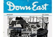 Down East Magazine Covers / Gorgeous Down East covers from yesterday and today.