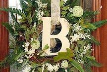[ diy ] wreath making & ideas