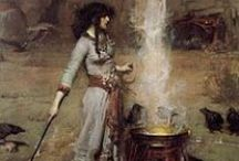 Witchcraft / Paganism, Occult, Kitchen witchery, black magic, spiritual....