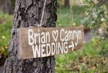 Signalétique de mariage