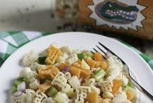 Collegiate Pasta Fundraising Product / Celebrating all things Collegiate. Our Collegiate pasta salads make great gifts for the biggest fan and will score big points at your next get together to watch the BIG GAME!!!!