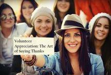 Volunteer Appreciation / Silent gratitude isn't much use to anyone. -G.B. Stern