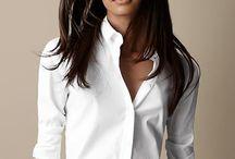моя любимая белая рубашка