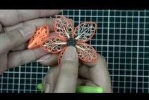 video and quilling technique