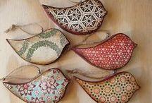 Ahşap boyama - Wood painting