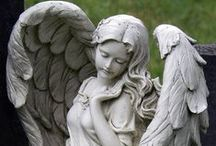 Angels /  The angels job is to keep the flame of the Creators's pure love lit in you. -Jenny D'Angelo