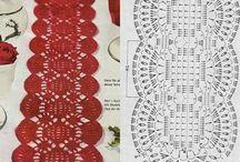 CROCHET NAVIDAD / Diseños, tejidos y muestras
