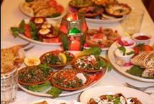 Arabic / Middle Eastern Food / I love the food of the middle east & its surrounds!