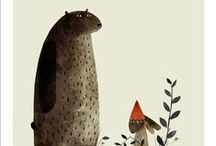 bears and hares, maybe some more badgers