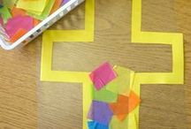 Lent & Easter / Craft activities, presentations and inspirational ideas to assist Messy Churches planning their Lent and Easter sessions