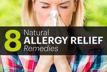 Seasonal Allergy Relief / Learn how essential oils can help relief seasonal allergy and sinus discomforts.