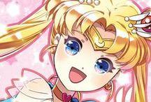 Sailor Moon / una serie de anime de mi infancia
