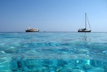 Water, ocean & sun