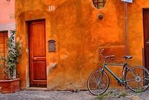 Biking in Rome