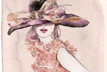 Fashion Illustrations / The most beautiful fashion illustrations