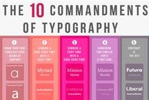 Graphic Designs + Typography / Great Graphic Techniques and Typography tips