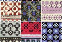 FAIRISLE Knitted pattern charts / by Vintage Knitting