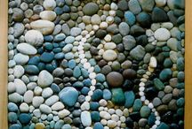 stone and pebble art