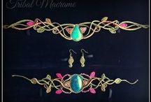 Tribal Macrame / A new concept of macrame jewelry. hippie boho bohemian tribal gypsy faery elven medieval ethnic hippie-chic boho-chic psy festival jewelry. Modern macrame. Visit my Etsy shop:  https://www.etsy.com/es/shop/TribalMacrame https://www.facebook.com/tribalmacrame