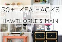 Inspired by Ikea Hacks / Love these Ikea hacks!