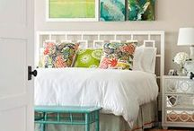 Colourful Bedrooms / Looks and tips for styling your bedroom