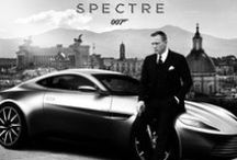 "James Bond Spectre in Rome / In ""Spectre"" (2015) James Bond drives his Aston Martin at a terrifying speed through the narrow, ancient streets of Rome."