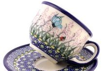Polish pottery | Mugs and Cups / See the widest range and the best prices of Polish pottery - hand decorated mugs and cups!