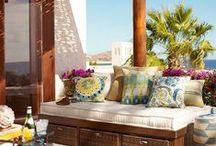 DECO: Exteriores / Inspiración para decorar tu patio, jardín o terraza.
