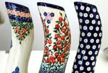 Polish pottery | Vases / Share your passion for Polish pottery! We´ll be happy when you contribute to this board with related beautiful pins :) Do you have some beautiful pictures of your Polish pottery? Or have you found some new awesome decorations online? Spread the love! Please use the ADD ME Pin to request an INVITE :)