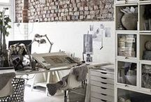 Home offices + studios / Wake up creativity, imagination, inspiration, concentration, etc.