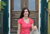 Your Host / The innkeeper at Auld Sweet Olive, Nancy Gunn