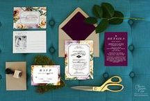 Paper Love / HART & CO. has a soft spot for awesome paper goods. Wedding stationery love & then some.