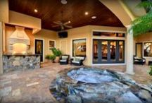 Pools, Patios & Porches / A collection of pools, porches and patios for your next Tampa Bay home.