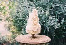 Piece of Cake / Life is short. Eat dessert first. Inspiration for your wedding cake & really any occasion that calls for cake!