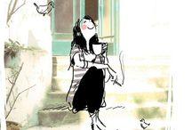 Les beaux dessins :)