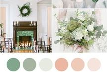Shades of Green / A little color & wedding inspiration while daydreaming of spring & crushing on the loveliest shades of green.
